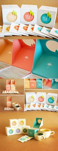 Tea Packaging Design | Inspiration DE