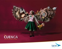 Tame Ecuador Airlines: Fly Cuenca | Ads of the World™