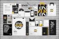 EAMEJIA | Premium and free graphic design resources | Flat Identity / Branding Mock-up | Inspiration DE