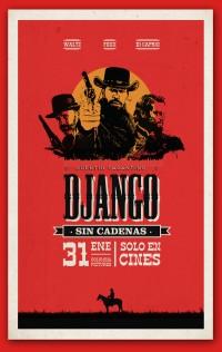 Django Unchained - Poster on