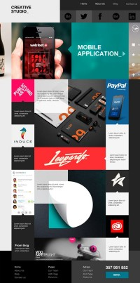 Theme_ Creative Studio | Inspiration DE