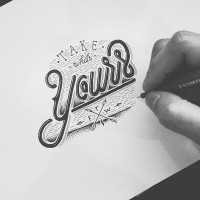 Hand Type Vol. 17 on Behance | Inspiration DE