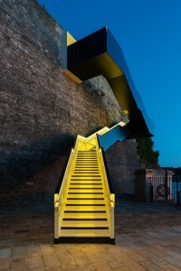 Coast Path Staircase at Royal William Yard by Gillespie Yunnie | Inspiration DE