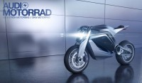 Audi Motorrad Concept - Car Body Design