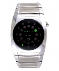 01 THE ONE LIGHTMARE LED COOL FASHION WATCH L102G2 ROUND DIAL SS BRACELET - LIGHTMARE - THE ONE 01