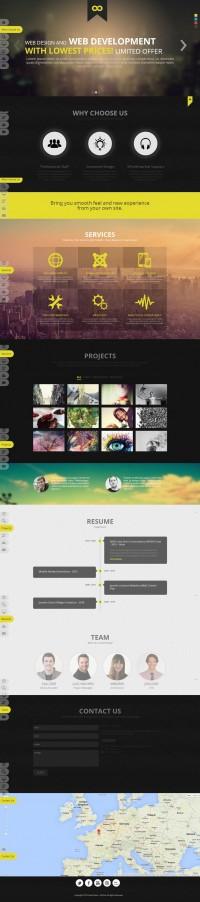 NOO NOOne – Joomla 3 Onepage Portfolio Template | Inspiration DE