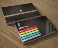 Corporate Business card set 02