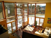 L-shaped Timber Construction Modern Passive House Design - ArchInspire