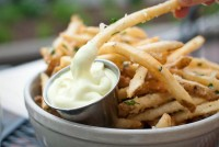 Fancy - Parmesan, Garlic & Chili Fries with Aioli