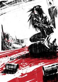Kiss of vengeance, short film Illustrations on