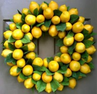 Lemon Wreath - Creative Decorations by Ridgewood Designs