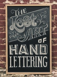 The Lost Art of Hand Lettering on Typography Served