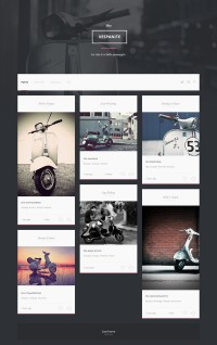 Web Design / Vespa_page — Designspiration