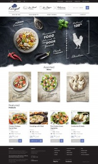 Homemade Food in Zürich on Behance | UI & Web Design | Inspiration DE