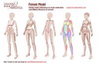 Female Pose Model by Oceans-Art