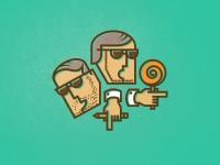 Two bros by Deividas Graužinis