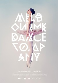 Identity and Poster design for the Melbourne Dance Company 2012 | Inspiration DE