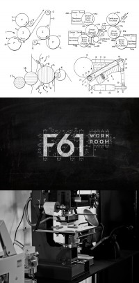 F61 work room on Behance | Inspiration DE