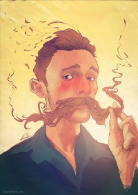 Happy Movember! Celebrate with Mustache Portraits from Ricardo Bessa | Inspiration DE