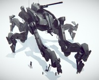 // An Concept for an Epic sized mech by James R