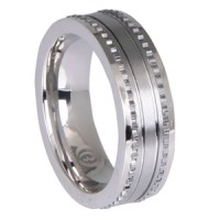 Mens Rings, Bold Sterling Silver Ring