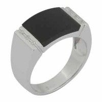 Mens Rings, Orosilber Rings OR-268A(MBA)