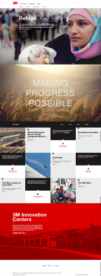 3M Innovation Website on