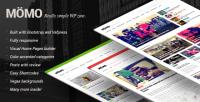 WordPress - MOMO - Really Simple WP Zine | ThemeForest