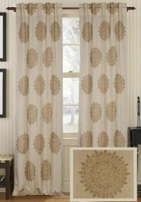 Sachin Jute Curtain Panel - Draperies & Tiebacks - Window Treatments - Linens & Fabrics | HomeDecorators.com