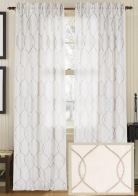 Hayley Curtain Panel - Draperies & Tiebacks - Window Treatments - Linens & Fabrics | HomeDecorators.com