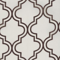 Blindsgalore Signature Drapery Panel: Quatrefoil Sheer