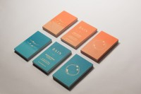 BAIN Silk Printed Business Cards on