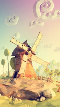 Power Giants – lowpoly paperworld by Mateusz Szulik | Inspiration DE