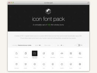 Stroke 7 - Free Icon Font Set - FreebiesXpress