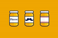 Monsieur Moustache Mustard — The Dieline