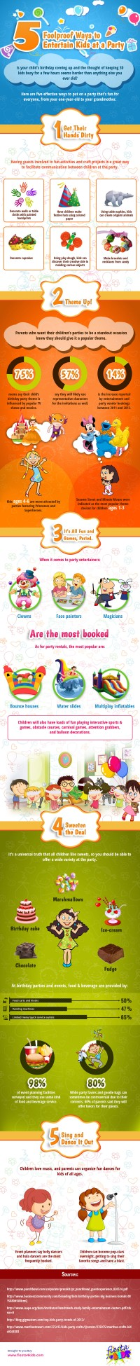 Fun and Cheap: 5 Foolproof Ways to Entertain Kids at a Party