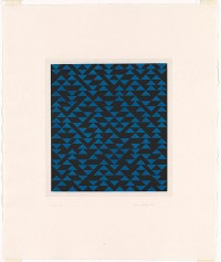 obsession of attraction and occupied eyes - thirstyear: ALBERS, Anni | Triangulated intaglio...