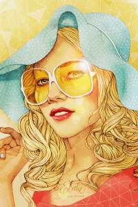 Fashion illustrations of Ëlodie Nadreau | Inspiration DE