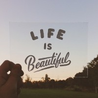 Life is Beautiful by Sean Tulgetske. | Inspiration DE