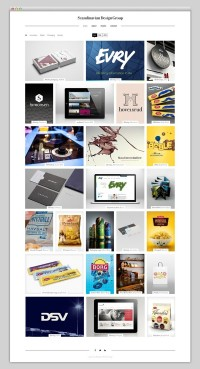 Webdesign / Scandinavian Design Group — Designspiration