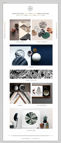 Websites We Love / Kristina Krogh Studio — Designspiration
