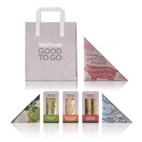 Waitrose: Good to Go - TheDieline.com - Package Design Blog