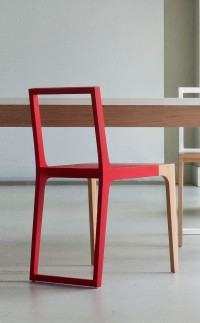 Branca Lisboa at M&O #red #chair | Furniture | Pinterest