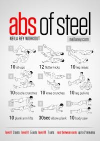 Abs of Steel Workout | Inspiration DE