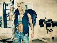 Killin' It In Da Gym – Dark angel with muscles | Inspiration DE