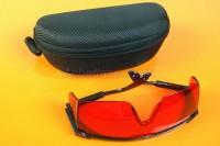 lunettes de sécurité du laser vert