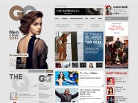 GQ - Redesign by Melih O?uz