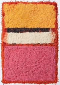 Rothko Paintings Recreated in Rice