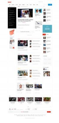 NEWS - Magazine WordPress Theme on