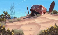 Simon Stålenhag — Now all the Mojave Metal pieces are available as...